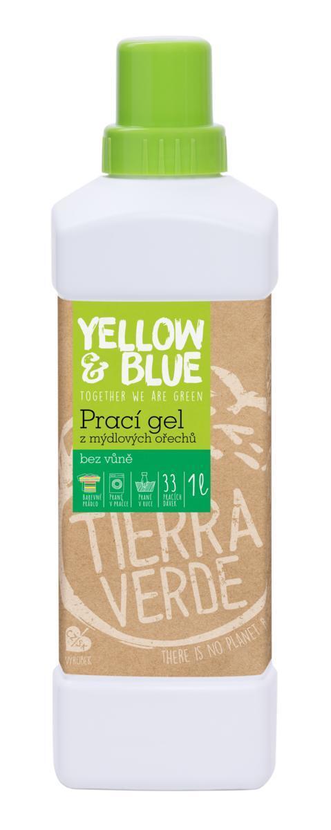 Použití produktu Prací gel bez vůně (lahev 1 l)