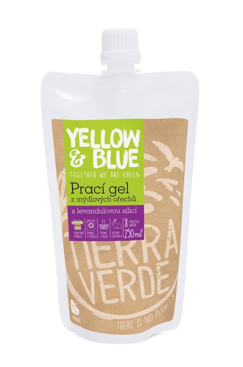 Prací gel levandule (sáček uzávěr 250 ml)