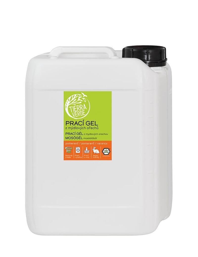Prací gél pomaranč (kanister 5 l)