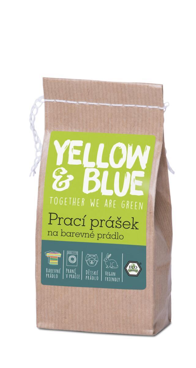 Použití produktu Prací prášek na barevné prádlo