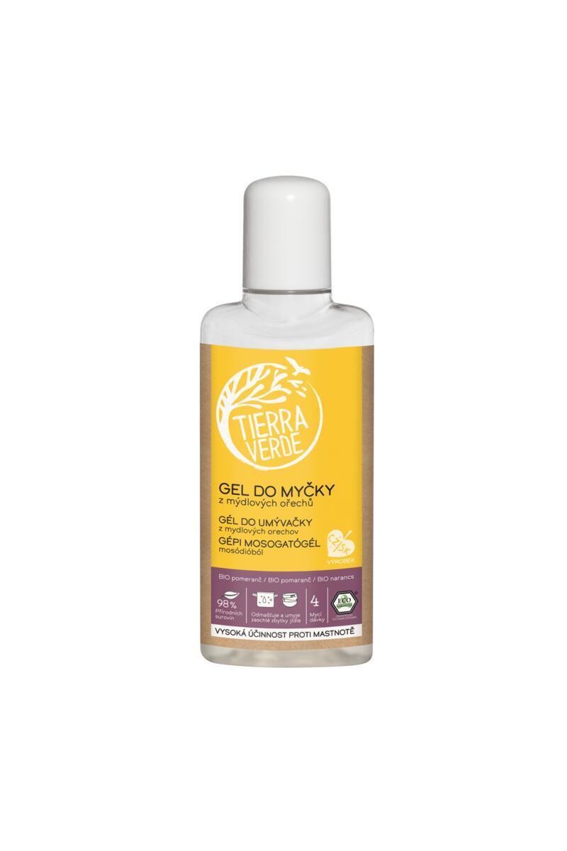 Gél do umývačky BIO pomaranč (fľaštička 110 ml)