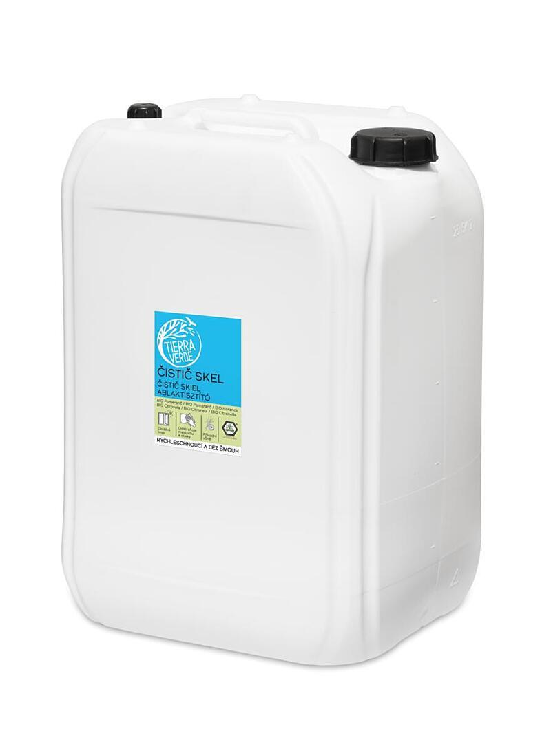 Použití produktu Čistič skel BIO pomeranč a citronela (kanystr 25 l)