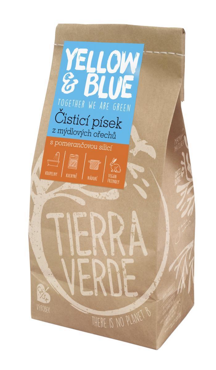 Použití produktu Čistící písek (pap. sáček 1 kg)