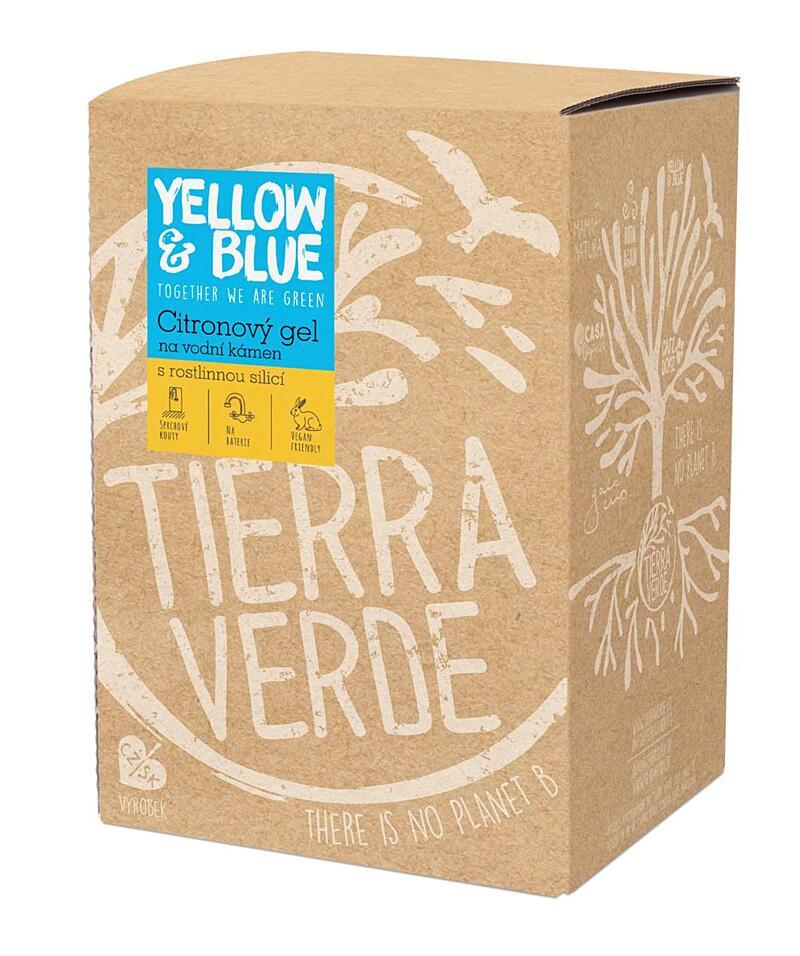 Použití produktu Citronový gel na vodní kámen (bag-in-box 5 l)