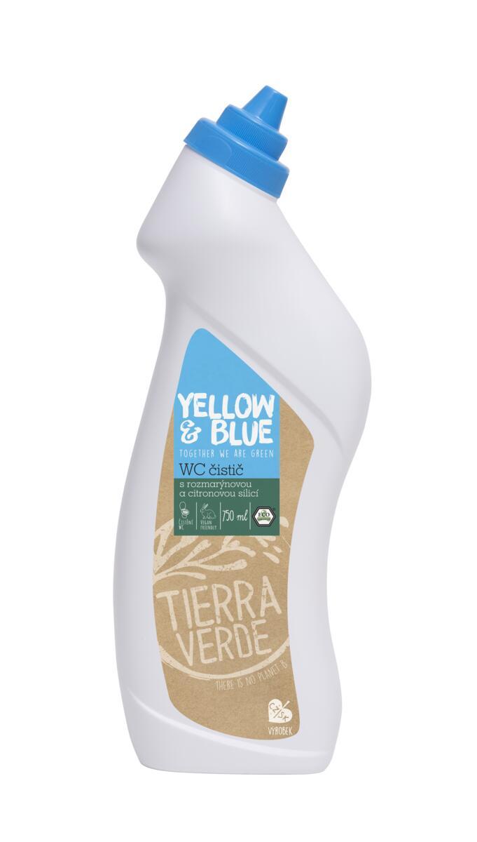 Použití produktu WC čistič rozmarýn a citron
