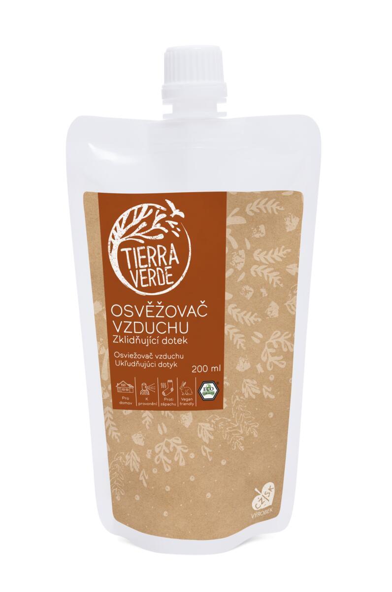 Použití produktu Osvěžovač vzduchu – Zklidňující dotek (sáček uzávěr 200 ml)
