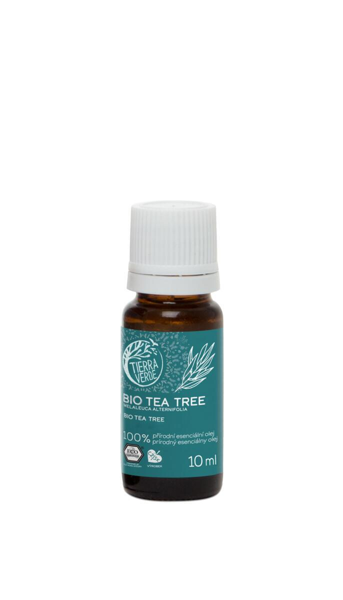 Použití produktu Esenciálny olej BIO Tea Tree
