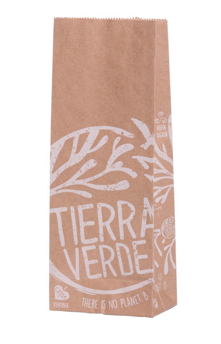 Použití produktu Sáček papírový Tierra Verde – bezobal 10 ks