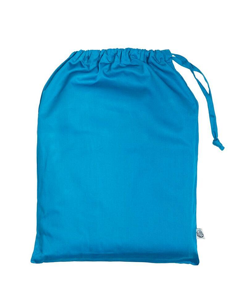 Saténové posteľné obliečky – tealová (200×140 + 90×70 cm)