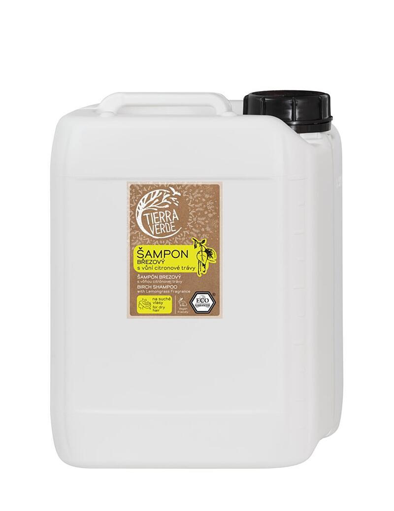 Šampon březový svůní citronové trávy (kanystr 5 l)