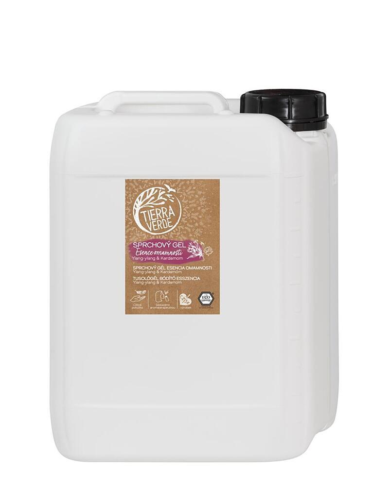 Použití produktu Sprchový gel Esence omamnosti (kanystr 5 l)